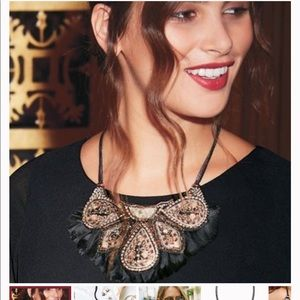 Stella & Dot Jewelry - Stella & Dot Constantine Feather Necklace